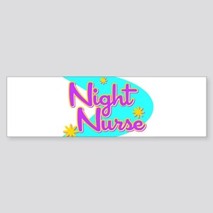 Night Nurse II Retro Style Bumper Sticker