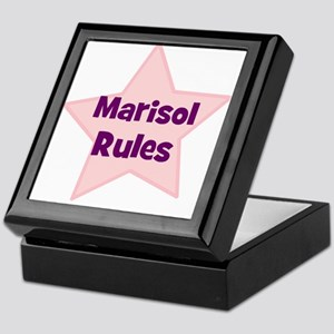 Marisol Rules Keepsake Box