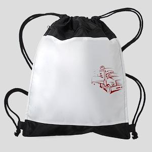 Behind or Under Trucking Drawstring Bag