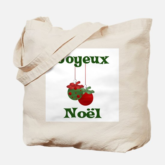 Joyeux Noel Tote Bag