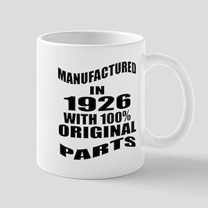 Manufactured in 1926 11 oz Ceramic Mug