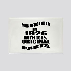Manufactured in 1926 Rectangle Magnet