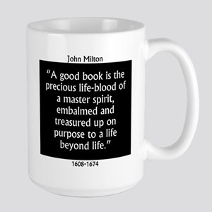A Good Book Is The Precious Life Blood Mugs