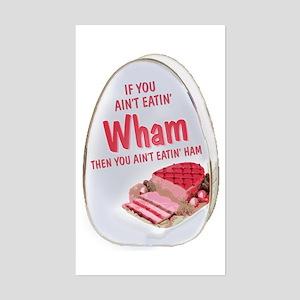 Wham Ham Rectangle Sticker