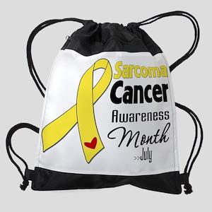 Sarcoma Cancer Awareness Month Drawstring Bag