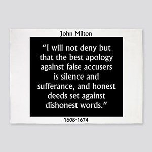 I Will Not Deny That The Best Apology - Milton 5'x