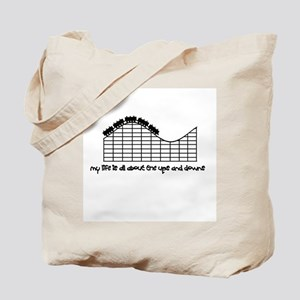 Roller Coaster Tote Bag