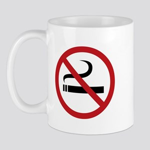 No Smoking Sign Mug