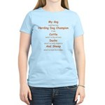 Herding Champion CDS Women's Light T-Shirt