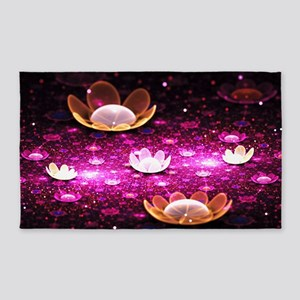 Water Lilies 3'x5' Area Rug