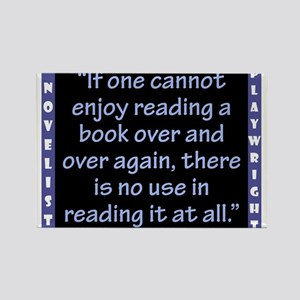 If One Cannot Enjoy Reading - Wilde Magnets