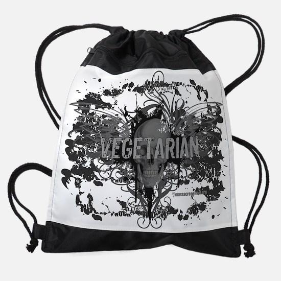 vegetarian-07.png Drawstring Bag
