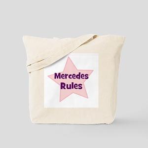 Mercedes Rules Tote Bag