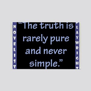 The Truth Is Rarely Pure - Wilde Magnets