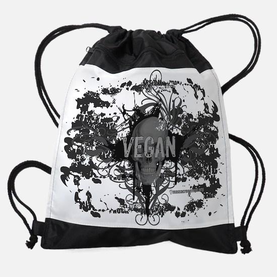 vegan-07.png Drawstring Bag