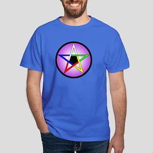 Dark T-Shirt - 5 Elements Pentacle