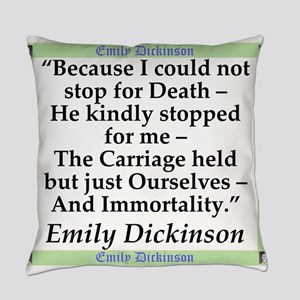 Because I Could Not Stop For Death - Dickinson Eve