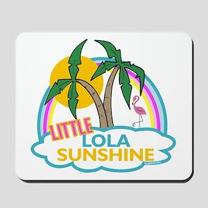 Island Girl Lola Personalized Mousepad