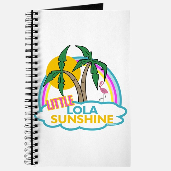 Island Girl Lola Personalized Journal
