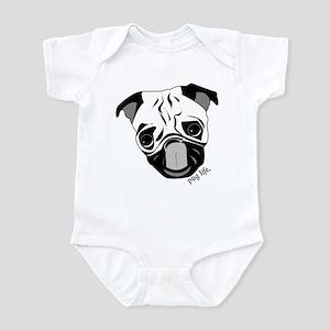Pug Life Chewie Tongue Infant Bodysuit