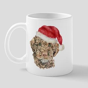 Christmas Lagotto Romagnolo Mug
