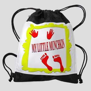 My little munchkin Drawstring Bag