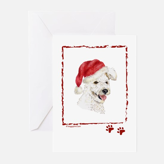 Happy Holidays Christmas Pumi Greeting Cards