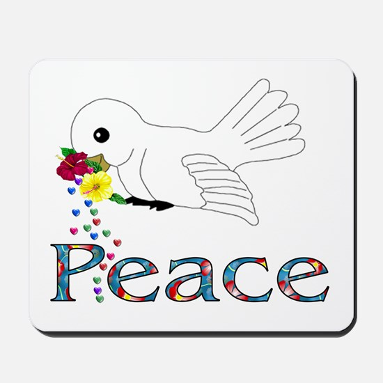Peace Bird Mousepad