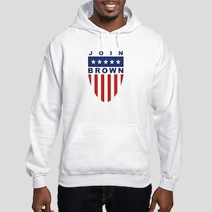 Join Sherrod Brown Hooded Sweatshirt