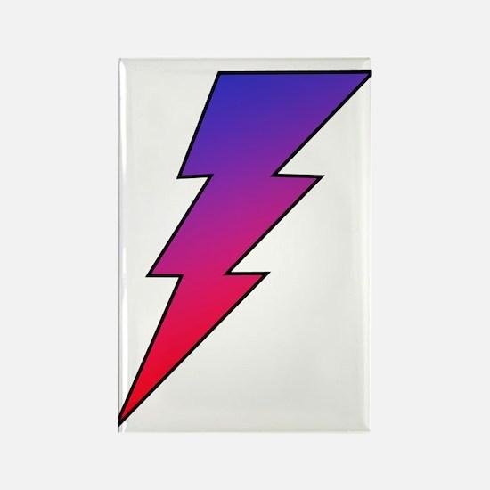 The Lightning Bolt 2 Shop Rectangle Magnet (10 pac