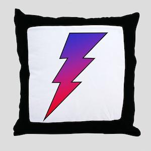The Lightning Bolt 2 Shop Throw Pillow