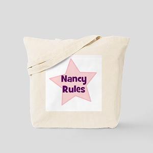 Nancy Rules Tote Bag