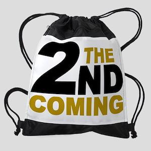 the 2nd coming Drawstring Bag