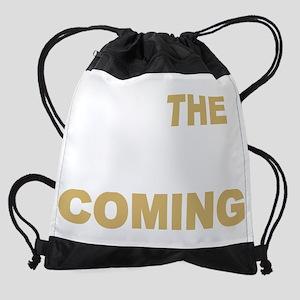 the 2nd coming_dark Drawstring Bag