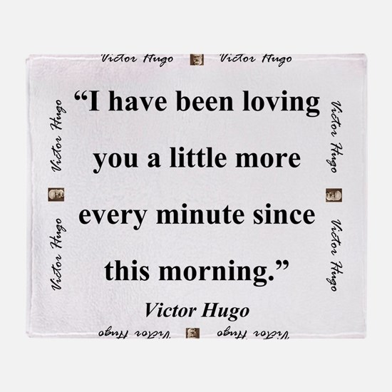 I Have Been Loving You - Hugo Throw Blanket