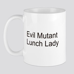Evil Mutant Lunch Lady Mug
