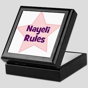 Nayeli Rules Keepsake Box