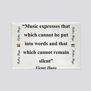 Music Expresses That Which Cannot - Hugo Magnets