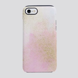 Pretty In Pink And Gold Delica iPhone 7 Tough Case