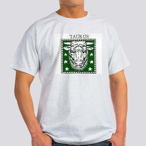 Taurus the Bull Ash Grey T-Shirt