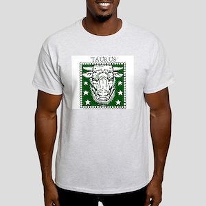 Taurus the Bull Ash Grey T-Shirt