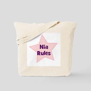 Nia Rules Tote Bag