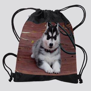 piperpuppycalendar Drawstring Bag