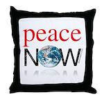 Peace Now Throw Pillow