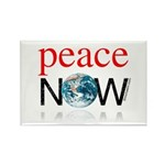 Peace Now Rectangle Magnet (100 pack)