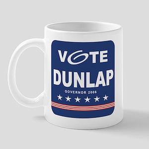 Vote Ted Dunlap Mug