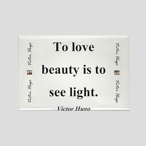To Love Beauty - Hugo Magnets