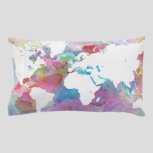 Design 48 World map Pillow Case