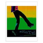 URBAN SKATE ART - Small Poster