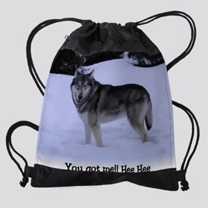 z Cosmo You got me new one cropped  Drawstring Bag